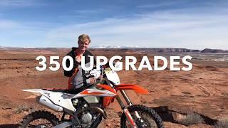 4. KTM 350XCF Trail Mods