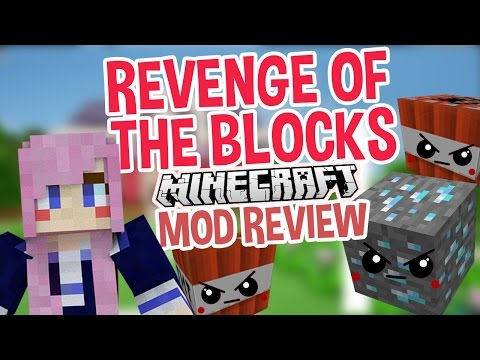 Revenge of the Blocks | Minecraft Mod