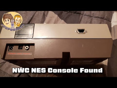 NWC NES Console Found! #CUPodcast