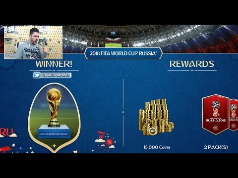 FIFA 18 WINNING THE WORLD CUP ONLINE TOURNAMENT With AN AMAZING SQUAD !!!