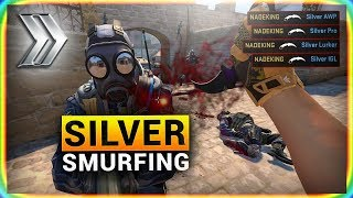Video CS:GO SMURFING in SILVER MP3, 3GP, MP4, WEBM, AVI, FLV Juni 2019