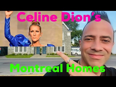 Celine Dion's Birthplace, Childhood Home, and Private Island Mansion | Celine's Hometown Montreal