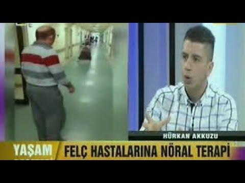 Fizyoterapist Hürkan AKKUZU - Ülke TV'de - Felç Kalmaya SON