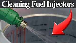 9. Cleaning Dirty or Clogged Fuel Injectors - DIY Without Using Expensive Equipment