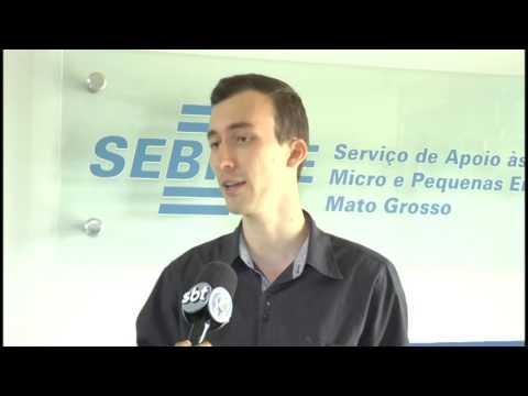 Reportagem da TV Cidade - SBT em Sinop - sobre Seminário do Sebrae realizado em contrato com a Concessionária da UHE Sinop, a Companhia Energética Sinop (CES)