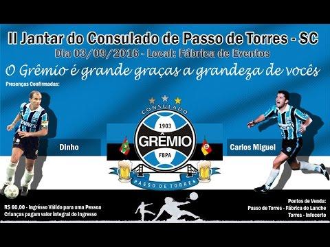 Jantar Consulado Passo de Torres 03/09/16