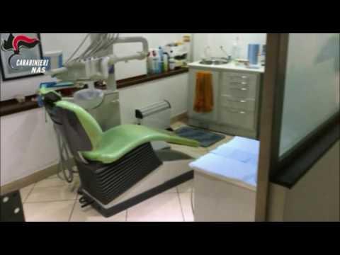 Nas, il sequestro dello studio dentistico abusivo