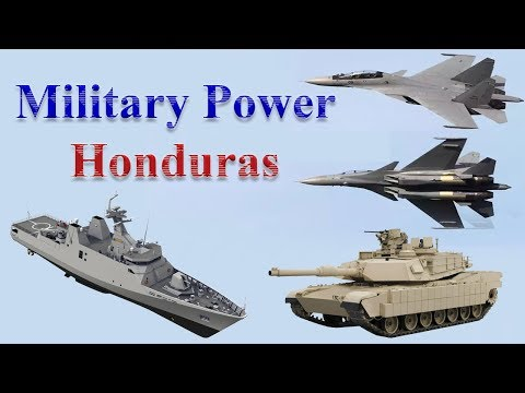 Honduras Military Power 2017
