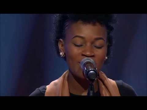 """Joy Ebiem Sings """"One Naira"""" for the Blind Auditions"""