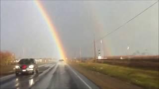 Driving through a rainbow 2012