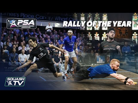 Squash: Men's Rallies of the Year 2020