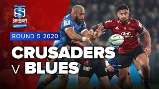 Crusaders v Blues Rd.5 2020 Super rugby Aotearoa video highlights |  Aotearoa Video Highlights