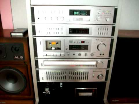 vintage Hifi - Nice Akai 80's stereo with Alpheratz french vintage speakers.