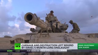 Deaths&Destruction:  Israel Op Leaves Gaza In Ruins, No Hope Of Long-term Success