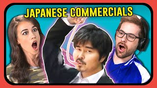 Video YOUTUBERS REACT TO JAPANESE COMMERCIALS (Long Long Man) MP3, 3GP, MP4, WEBM, AVI, FLV Juli 2018