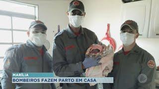 Bombeiros fazem parto dentro de casa em Marília