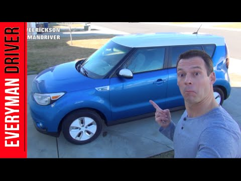 Just Arrived: 2015 Kia Soul EV on Everyman Driver