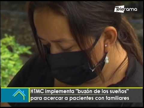 HTMC implementa buzón de los sueños para acercar a pacientes con familiares