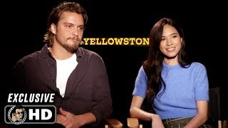 YELLOWSTONE Season 2 Exclusive Interview Luke Grimes and Kelsey Asbille (2019) by Joblo TV Trailers