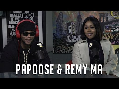 Remy Ma & Papoose Talk New Season of Love and Hip Hop, Having a Baby & Why She Hates on His Music On Hot 97