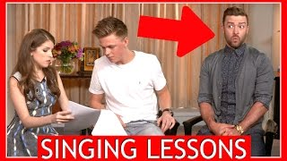 SINGING LESSONS w/ Justin Timberlake & Anna Kendrick Video
