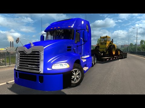 Mack Pinnacle (The modifed version for ETS2)