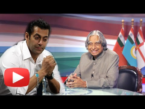 Salman Khan Reacts On APJ Abdul Kalam's Death