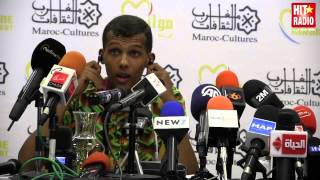 CONFÉRENCE DE PRESSE STROMAE A #MAWAZINE 2014 SUR HIT RADIO