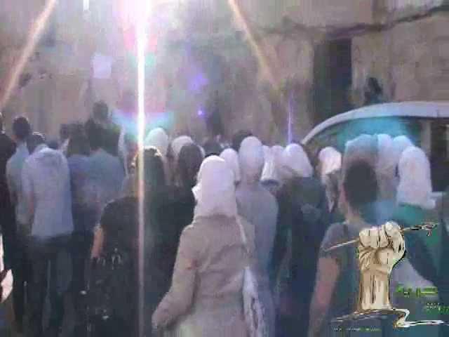 حمص العدية  عام على الحصار