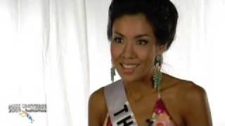 Miss Thailand Universe 2009 Interview