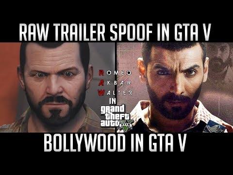 RAW Trailer Spoof in GTA V | John Abraham | Mouni Roy | Romeo Akbar Walter Review