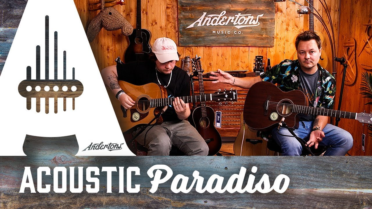 Ibanez Vintage Thermo Aged Guitars – Acoustic Paradiso
