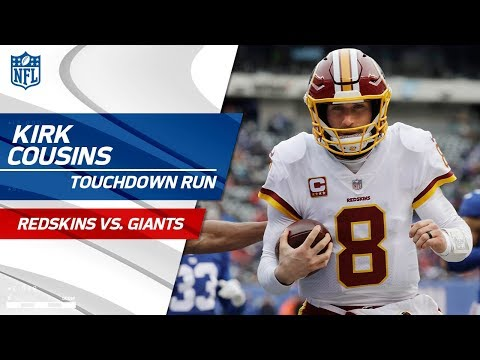 Video: Preston Smith's Clutch INT Sets Up Kirk Cousins' TD Run! | Redskins vs. Giants | NFL Wk 17