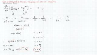 Valor de Convergencia de un serie Telescópica más un Geométrica