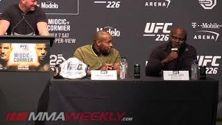Video Derrick Lewis Has Beef with Daniel Cormier (UFC 226 Presser) MP3, 3GP, MP4, WEBM, AVI, FLV Oktober 2018