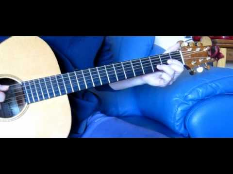 Here I Go Again Unplugged Acoustic Guitar Lesson
