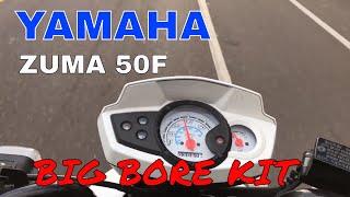 7. Yamaha Zuma 50f Malossi big bore kit