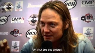 D-A-D - Interview Jesper Binzer - Hellfest 2012