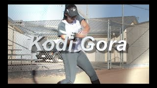 2020 Kodi Gora Power Hitting Third Base Softball Skills Video