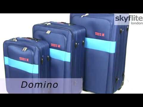 Відео огляд валізи Skyflite Domino Blue (L)