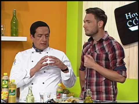 Hoy cocino por Ti - Ceviche de camarón con patacones - Rodrigo Padilla
