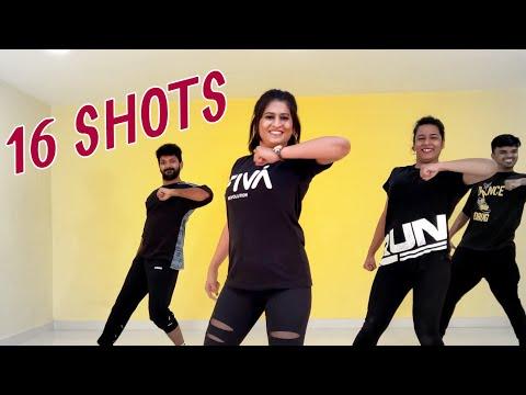 16 Shots | WARM-UP Dance Fitness Choreography by Vijaya Tupurani | Stefflon Don