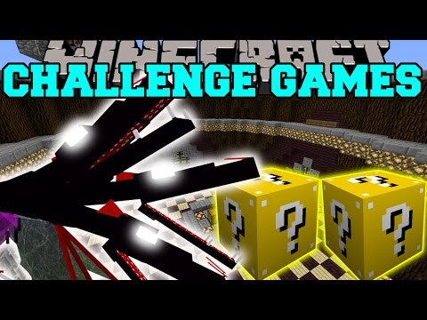 Minecraft: THE QUEEN CHALLENGE GAMES – Lucky Block Mod – Modded Mini-Game