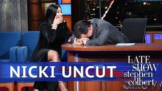 Video UNCUT: The Nicki Minaj Interview With Stephen Colbert MP3, 3GP, MP4, WEBM, AVI, FLV September 2018