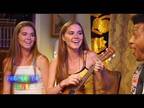 Twins Nina and Randa give Will a Fitness Examination