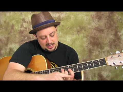 Free Guitar Lessons – How to Play Acoustic Guitar – Easy Chords and Embellishments