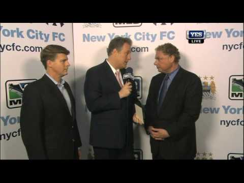 Hal Steinbrenner & Randy Levine on the formation of New York City Football Club_Labdar�g�s MLS legjobb vide�k. Sport of USA