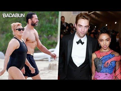 6 famosos con esposas no tan guapas