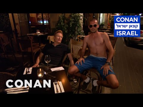 Conan Wanders Tel Aviv At Night  - CONAN on TBS
