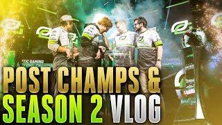 Post Champs and Season 2 VLOG